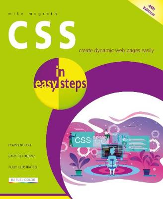 CSS in easy steps by Mike McGrath