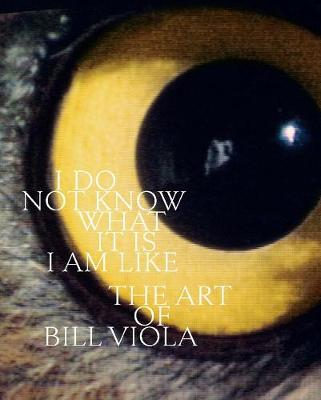 I Do Not Know What It Is I Am Like: The Art of Bill Viola book