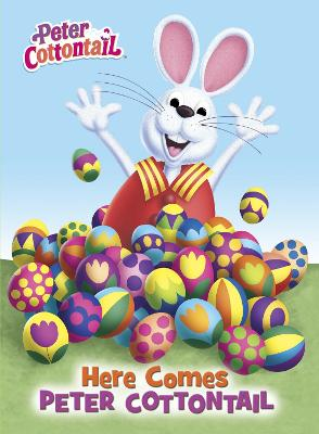 Here Comes Peter Cottontail Board Book (Peter Cottontail) by Random House