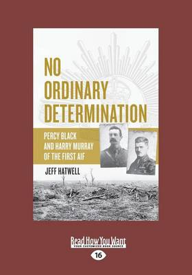 No Ordinary Determination by Jeff Hatwell