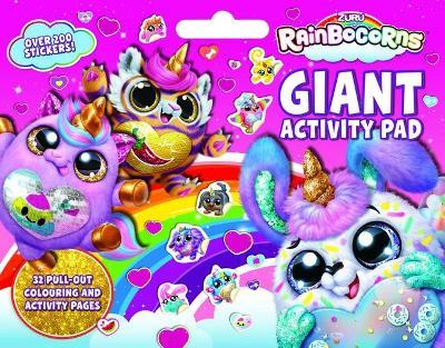 Rainbocorns: Giant Activity Pad book