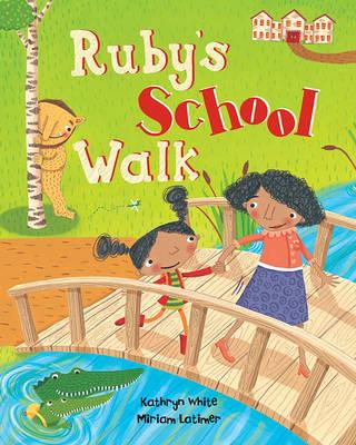Ruby's School Walk by Kathryn White