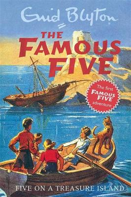 Famous Five: Five On A Treasure Island by Enid Blyton