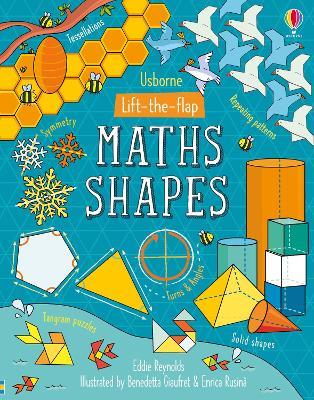 Lift-the-Flap Maths Shapes book