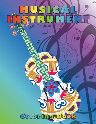 Musical Instrument Coloring Book by Hal Leonard Corp