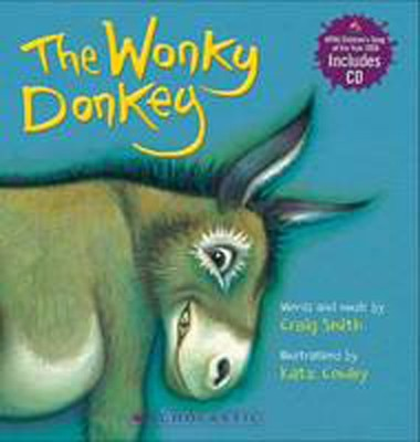 Wonky Donkey Board Book (with CD) by Craig Smith