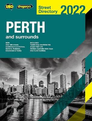 Perth Street Directory 2022 64th book