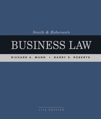 Smith and Roberson's Business Law by Barry Roberts