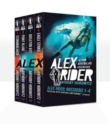 Alex Rider: Missions 1-4 by Anthony Horowitz