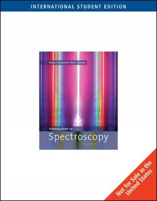 Introduction to Spectroscopy, International Edition book