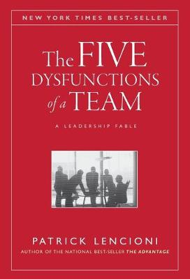 Five Dysfunctions of a Team book