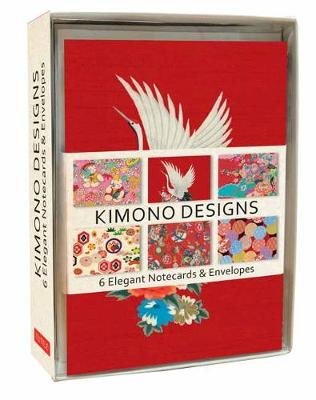 Kimono Note Cards: 6 Blank Note Cards and Envelopes by Tuttle Editors
