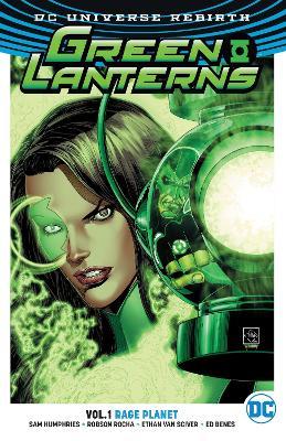 Green Lanterns TP Vol 1 (Rebirth) by Jimmy Palmiotti