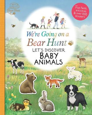 We're Going on a Bear Hunt: Let's Discover Baby Animals book