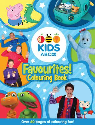 ABC KIDS Favourites! Colouring Book (Blue) book