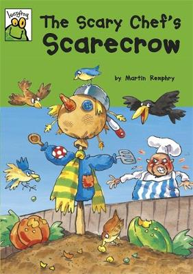 Scary Chef's Scarecrow by Martin Remphry