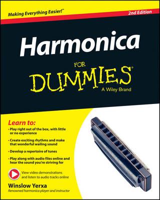 Harmonica For Dummies by Winslow Yerxa