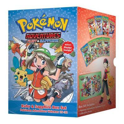 Pokemon Adventures Ruby & Sapphire Box Set by Satoshi Yamamoto