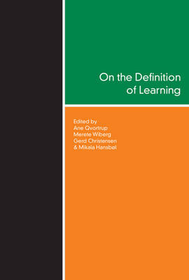 On the Definition of Learning by Ane Qvortrup