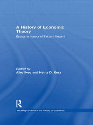 History of Economic Theory by Aiko Ikeo