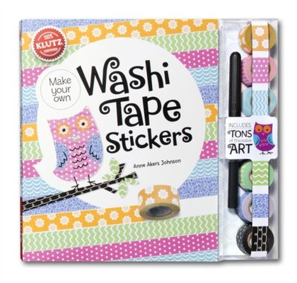 Washi Tape Stickers by Anne Akers Johnson