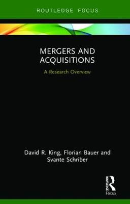 Mergers and Acquisitions: A Research Overview book