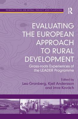 Evaluating the European Approach to Rural Development book