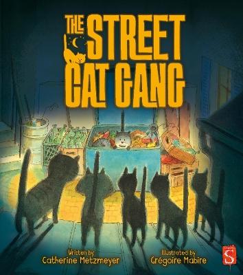 Street Cat Gang by Catherine Metzmeyer