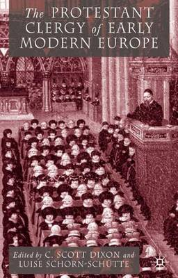 Protestant Clergy of Early Modern Europe book