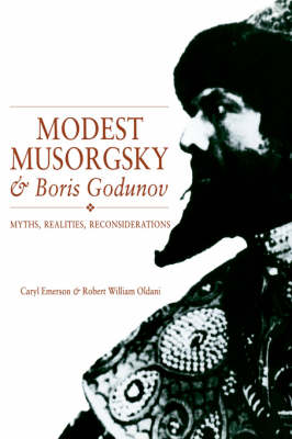 Modest Musorgsky and Boris Godunov book