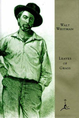 Mod Lib Leaves Of Grass by Walter Whitman