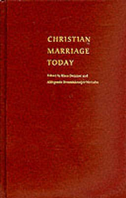 Christian Marriage Today by Klaus Demmer