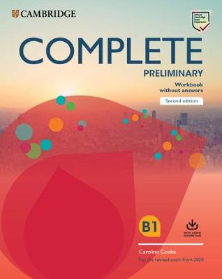 Complete Preliminary Workbook without Answers with Audio Download: For the Revised Exam from 2020 book
