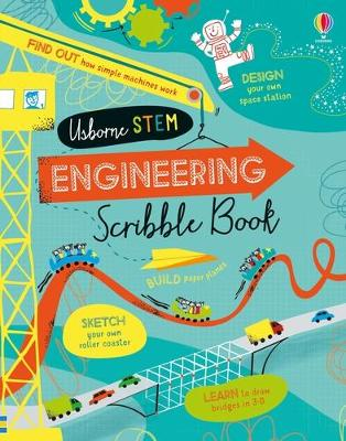 Engineering Scribble Book by Eddie Reynolds