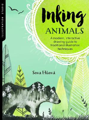 Illustration Studio: Inking Animals by Sova Huova