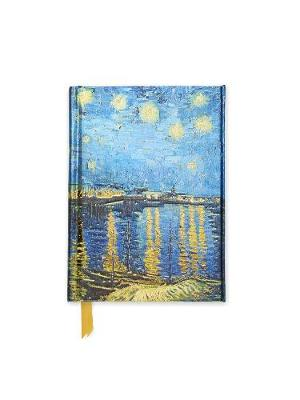 Van Gogh: Starry Night over the Rhone (Foiled Pocket Journal) by Flame Tree