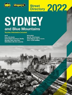 Sydney & Blue Mountains Street Directory 2022 58th book