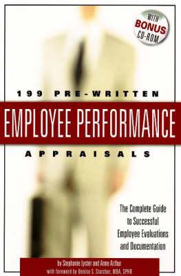 199 Pre-Written Employee Performance Appraisals by Stephanie Lyster
