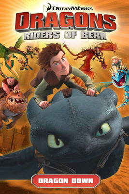 DreamWorks' Dragons Dragons: Riders of Berk V01 Dragon Down (How to Train Your Dragon TV) Volume 1 by Simon Furman
