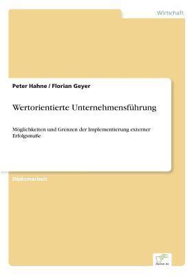 Wertorientierte Unternehmensfuhrung by Peter Hahne