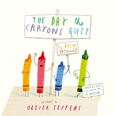 Day The Crayons Quit book