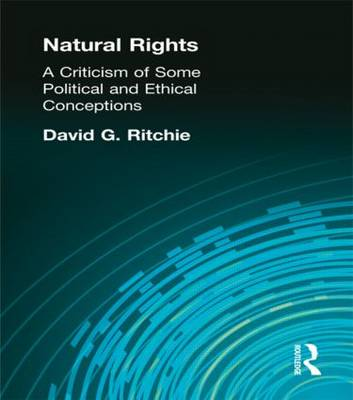 Natural Rights by Ritchie, David G