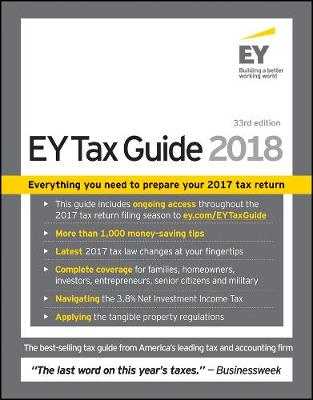 Ernst & Young Tax Guide 2018 by Ernst & Young LLP