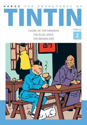 Adventures of Tintin Volume 2 book