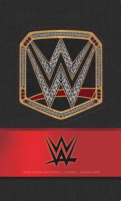WWE Hardcover Ruled Journal by WWE