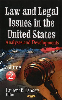 Law & Legal Issues in the United States by Laurent B. Landers