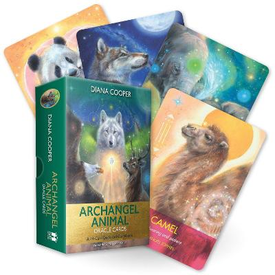 Archangel Animal Oracle Cards: A 44-Card Deck and Guidebook by Diana Cooper