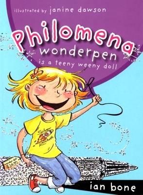Philomena Wonderpen is a Teeny Weeny Doll by Ian Bone