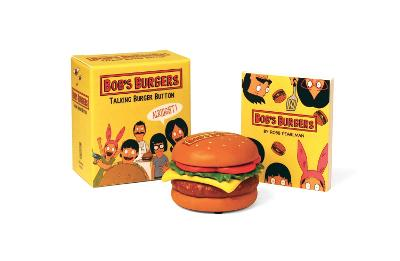 Bob's Burgers Talking Burger Button by Robb Pearlman