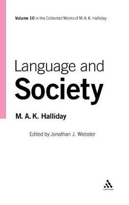 Language and Society by M. A. K. Halliday